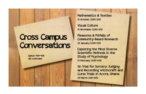 Cross Campus Conversations 2012 poster
