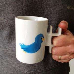 David Wilson twitter mug
