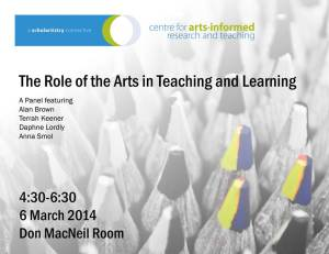 CAIRT: Role of the Arts in Teaching
