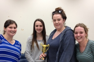 Winning team, 3rd annual rhetorical race
