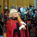 Susan Drain mace bearer