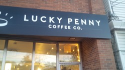 Places to Write: Lucky Penny Coffee Co.