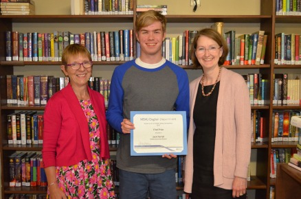 Jack Farrell, winner of the 2017 High School Essay Writing Competition