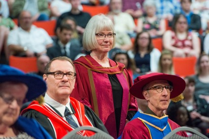 Susan Drain Convocation 2017