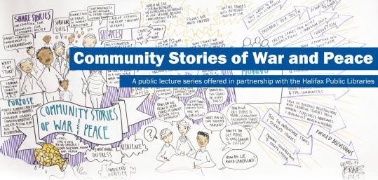 Community Stories of War and Peace public lecture series