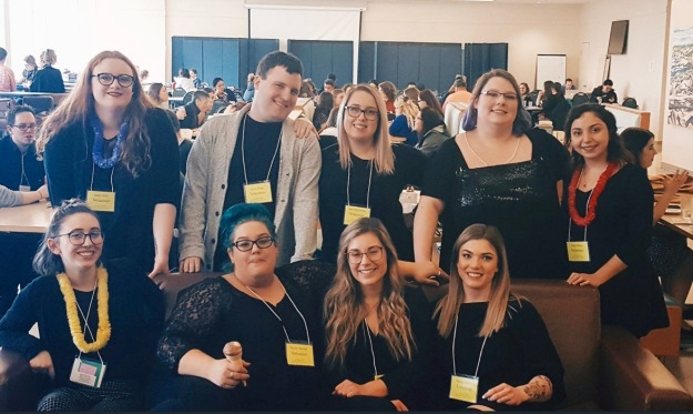 Mount students at AAUEC 2018