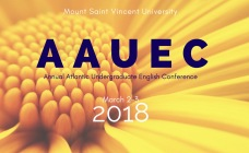 AAUEC 2018 Annual Atlantic Undergraduate English Conference