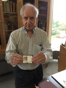 Peter Glenister, Librarian Emeritus