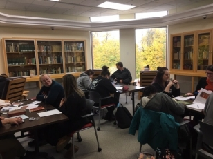 Researching in the MacDonald Room