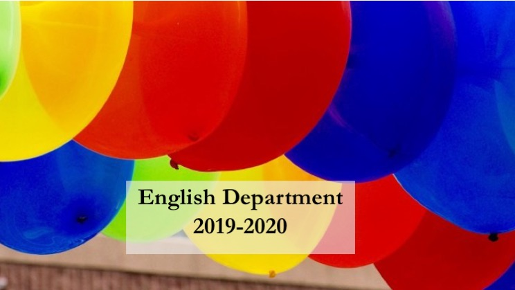 English Department 2019-2020 Convocation review